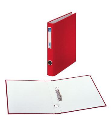 Carpeta 2 anillas folio 25mm carton foliorra. ofi. rojo dohe 09422 - 09422