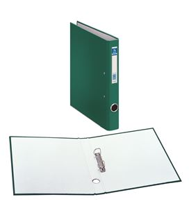 Carpeta 2 anillas folio 25mm carton foliorra. ofi.verde dohe 09423