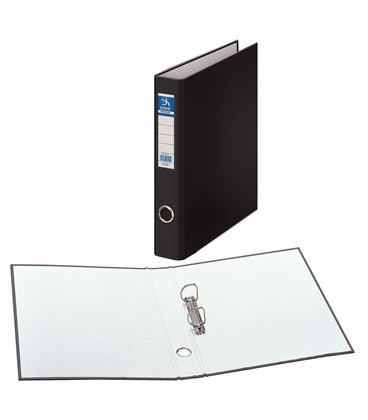 Carpeta 2 anillas folio 40mm carton folio. ofi. negro dohe 09431 - 09431