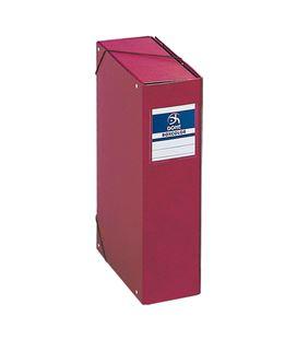 Carpeta proyectos 9cms rojo carton forrado office dohe 09745