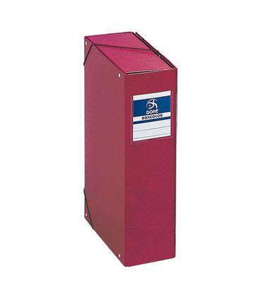 Carpeta proyectos 9cms rojo carton foliorrado office dohe 09745 - 09745