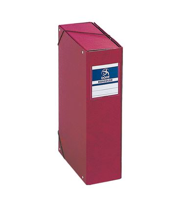 Carpeta proyectos 9cms rojo carton forrado office dohe 09745 - 09745