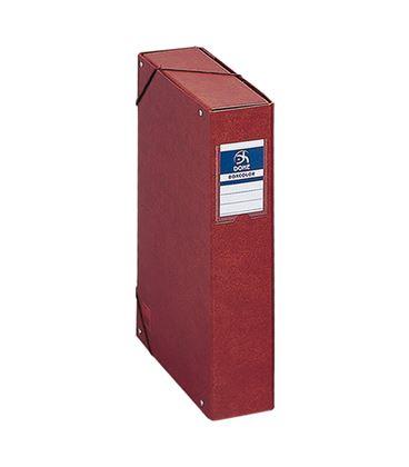 Carpeta proyecto fº 7cm carton cuero forrado dohe 09573 - 09573