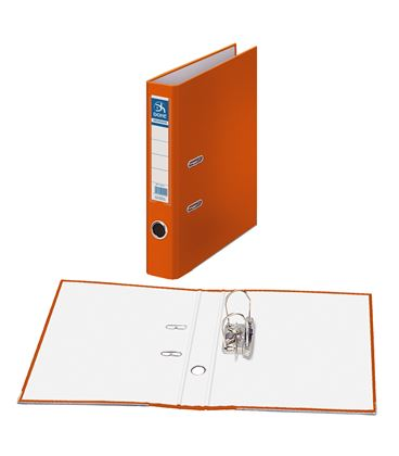 Archivador palanca fº 45mm naranja archicolor dohe 90127 - 90127