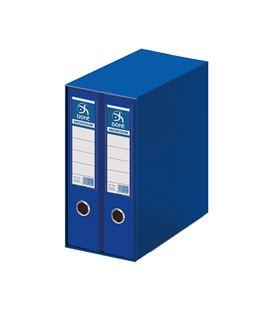 Modulo 2 archivador palanca fº 70mm azul archi. dohe 90130