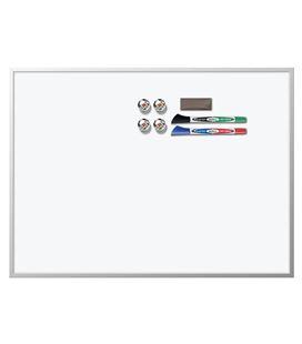Pizarra magnética 585x430mm + accesorios value pack rexel