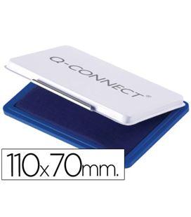 Almohadilla tampon 7x11cms nº2 azul q-connect kf25209 52387