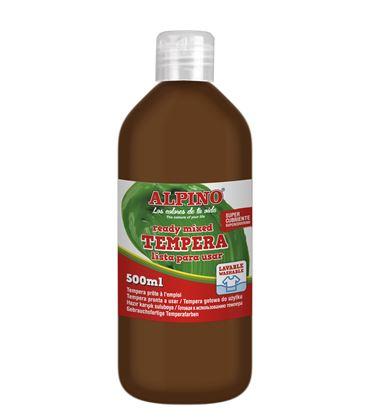 Tempera liquida 500 ml marron alpino dm010177 - 111590
