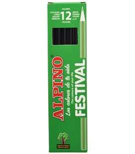Pintura madera negro 12 unidades festival alpino c0131001 57935 - C0131001