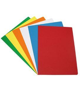 Subcarpeta a4 240g rojo col.fuertes c.50 grafolioplas 17051
