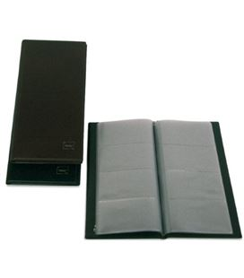 Tarjetero basic negro pvc grafoplas 03771010 - 03771010