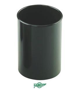 Cubilete plastico negro opaco faibo 205-02