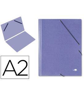 Carpeta planos a2 con goma azul q-connect 27155 - 27155