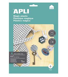 Plastico magnetico transparente a4 apli 10331 - 10331