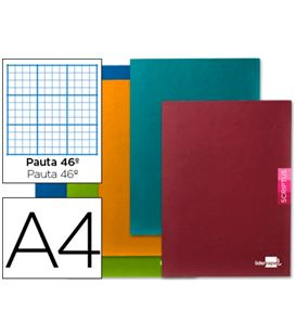 Cuaderno grapa fº nº46 48h 90grs surtido liderpapel 53704
