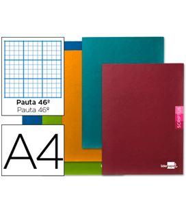 Cuaderno grapa folio nº46 48h 90grs surtido liderpapel 53704