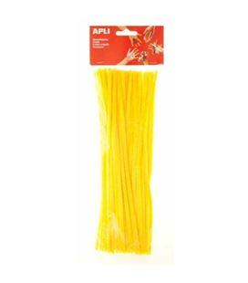 Chenilla amarillo 50u. apli 13272