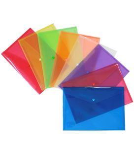 Sobre broche folio apaisado pp rojo grafolioplas 98487151 920549 - 984871