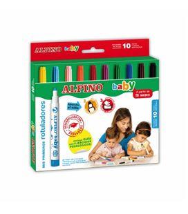 Rotulador escolar baby c.10 alpino ar000056 - AR000056_ROTULADORES BABY
