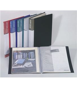 Carpeta 40 fundas a4 negra data bank staedtler mt-40 020078