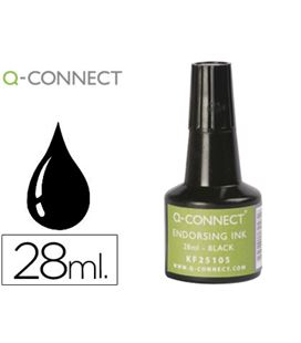 Tinta sellar 28ml aplicador frasco negro q-connetc kf25105