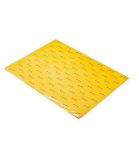 Papel seda 51cmsx76cms 25h amarillo oro sadipal 11160
