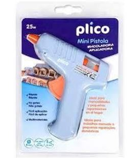 Pistola termofusible mini blu-tack plico 133005 - 41509