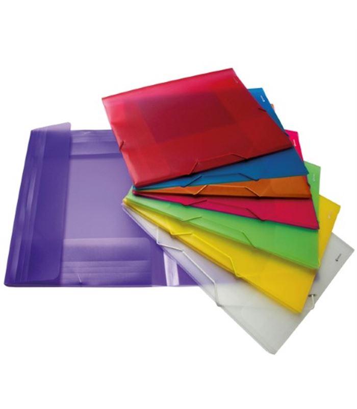 Carpeta goma solapa a4 pp surtido grafoplas 98480299 for Carpetas para oficina