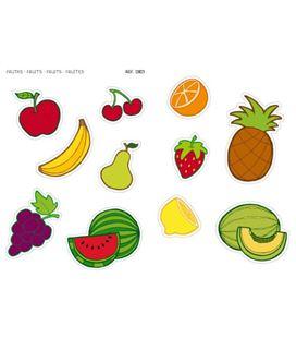 Gomet bolsa etiquetas maxi frutas 2h apli 12823