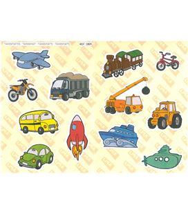 Gomet bolsa etiquetas maxi vehiculos 2h apli 12824