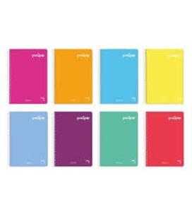 Cuaderno espiral 4º 4x4 80h 70grs pp polipac pacsa 16330 16962 - 16962