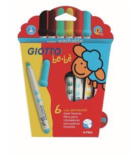 Rotulador infantil be-be giotto 6u. fila 460500 466600 469800