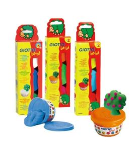 Plastilina 100ml infantil be-be giotto 3u. fila 462503 - 462503