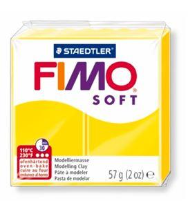Pasta moldear amarillo limon fimo soft staedtler 8020-10