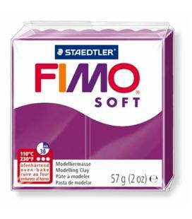 Pasta moldear violeta fimo soft staedtler 8020-61