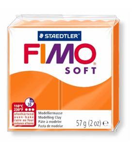 Pasta moldear naranja fimo soft staedtler 8020-42