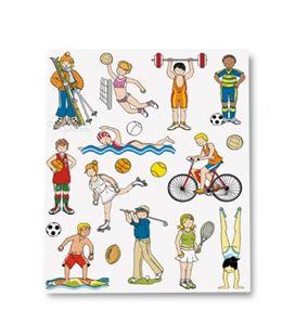 Gomets bolsa etiquetas deportes 3h apli 11441 - 11441
