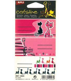 Etiqueta adhesiva catsline 3u. apli 12023 - 12023