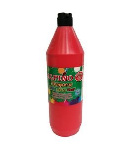 Tempera liquida 1000ml rojo lavable alpino dm000188