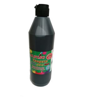 Tempera liquida 500ml negro lavable alpino dm000183