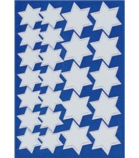 Gomet bolsa etiquetas estrella plata 3h apli 722 (descatalogado) - 00722