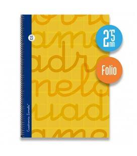Cuaderno fº 2,5mm 80h 70g t.dura naranja lamela 7fte002n 537324 - 7FTE002N