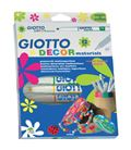 Rotulador decor materials 12u fila-giotto 453400