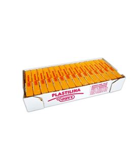 Plastilina 150 grs amarillo oscuro jovi 71/03