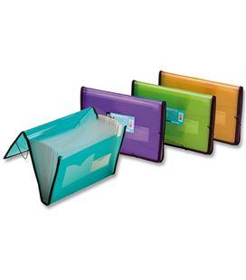 Clasificador pp a4 goma verde lima folder. 134-pgf-k - 134-2