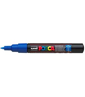 Rotulador permanente 1mm azul pc-1m posca uni 654064
