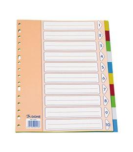 Separador folio 10 posiciones indice basico pp dohe 90453