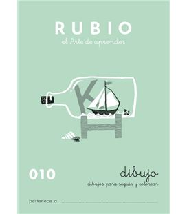 Cuaderno escolar escritura 010 rubio - ESCRITURA 010
