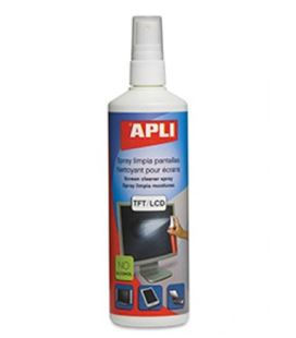 Spray limpia pantalla 250ml apli 11324 - 11324