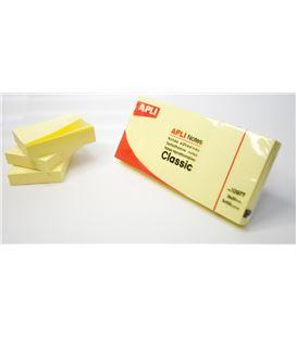 Nota adhesiva posit 38x51 100h amarillo c.3 apli 10977 - 10977